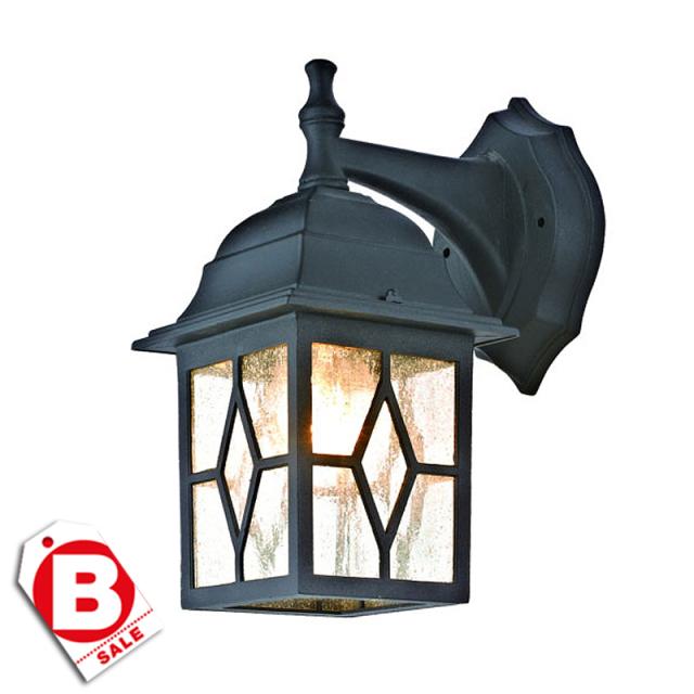 【訳アリ】オルソ1灯アウトドアライト・玄関照明/ウォールタイプ・ダウン型