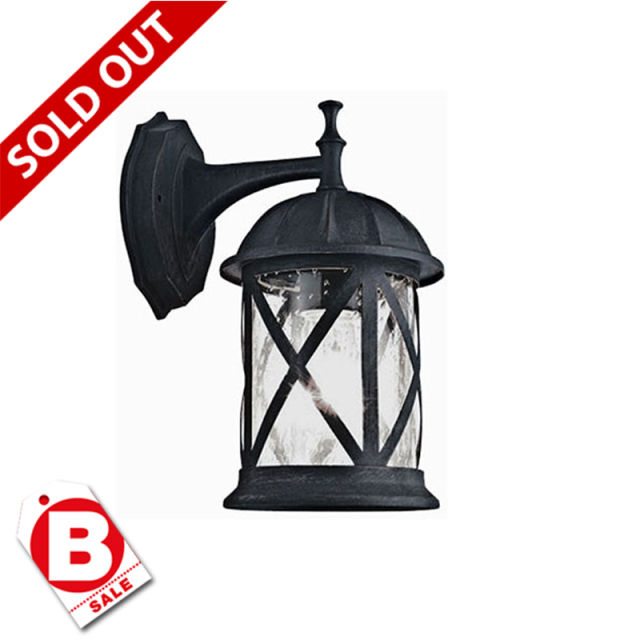 B級品ウルペース1灯アウトドアライト・玄関照明/ダウン型