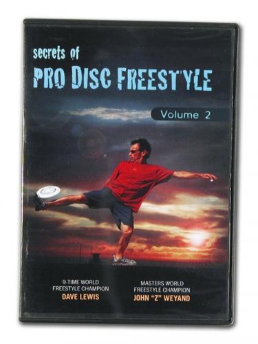 Secrets of Pro Disc Freestyle Vol 2 DVD