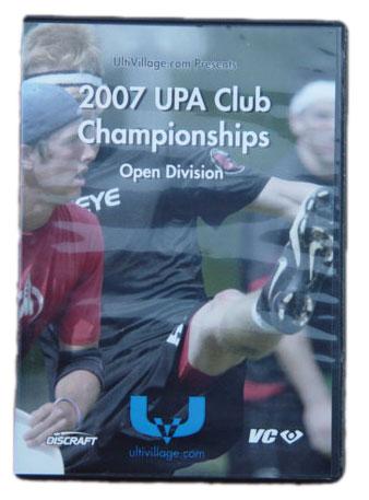 2007 UPA Club Championships OPEN DVD