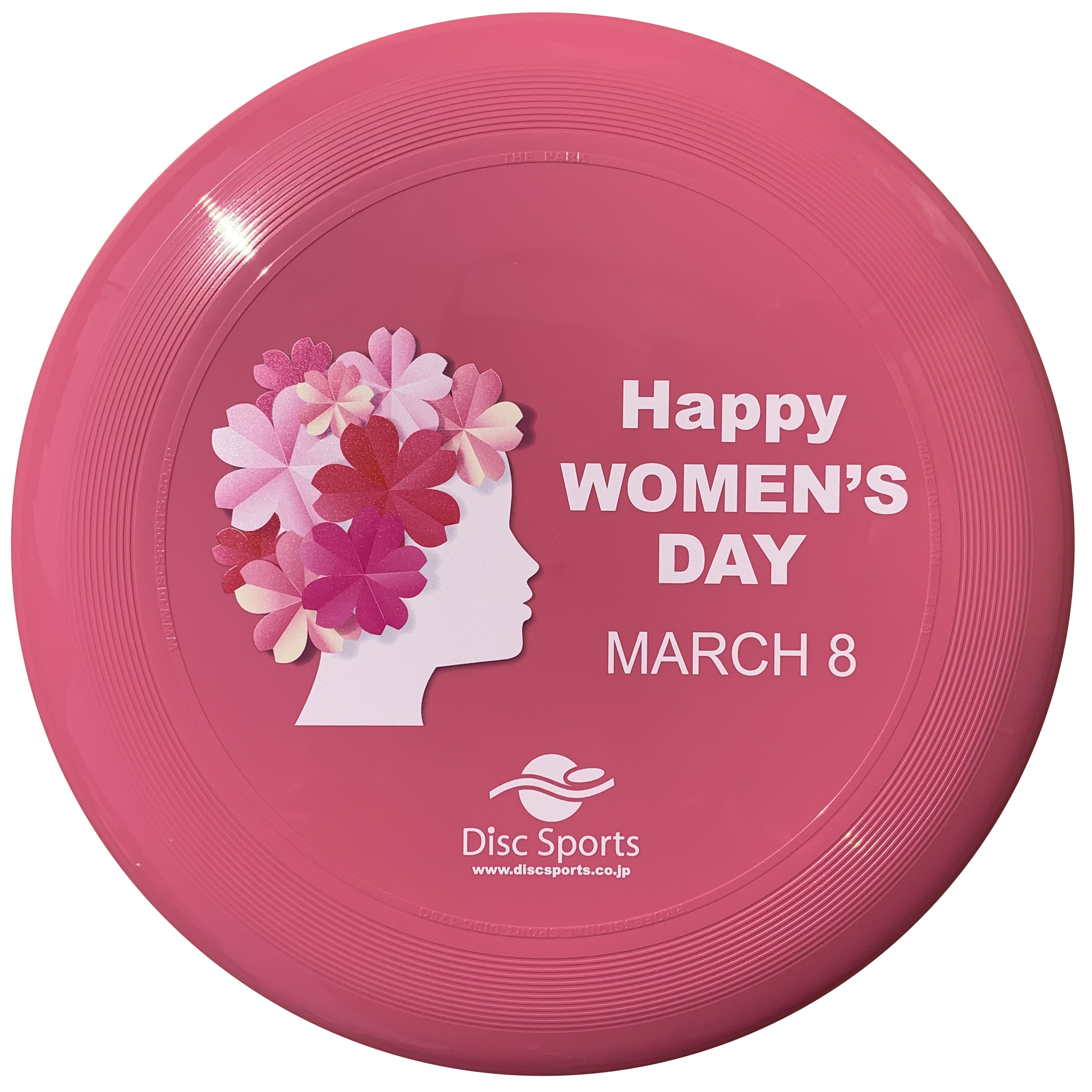 """THE PARK COLOR PINK """"HAPPY WOMEN'S DAY"""""""