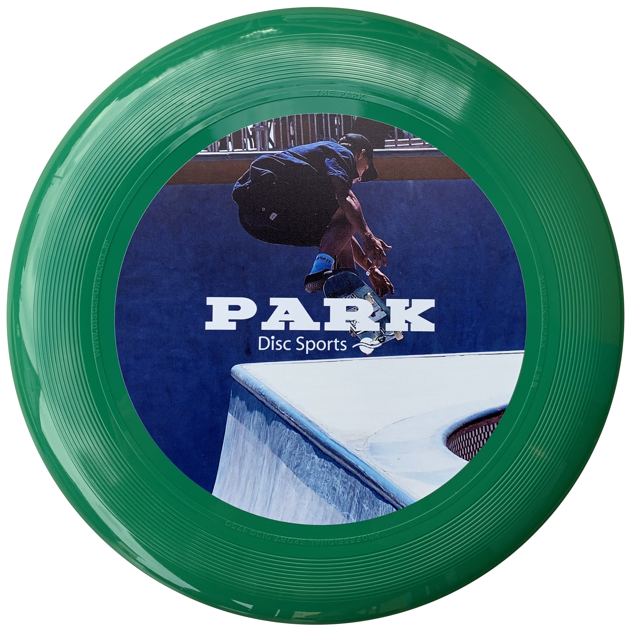 "THE PARK COLOR GREEN ""SKATEBOARD JUMP"""