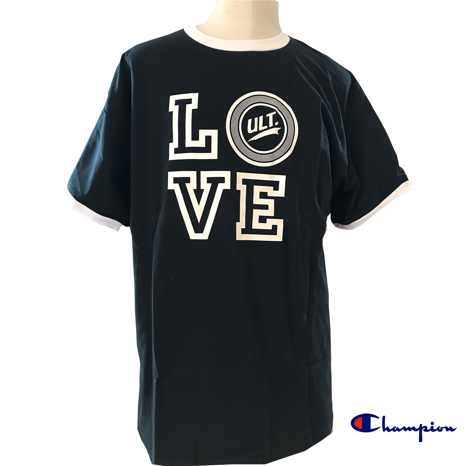LOVE ULT Champion Tシャツ