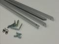 内径5型アルミフレームシルバー部品セット オーダーサイズ ポスター寸法 1025x1425mm