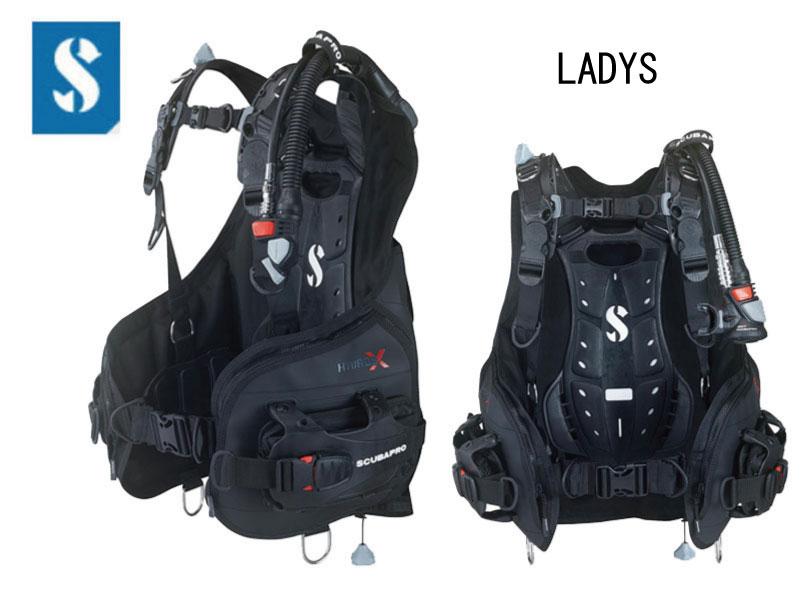 [送料無料] SCUBAPRO (スキューバプロ) HYDROS X BCジャケット LADY レディース [21901100-21901400] ダイビング用BCジャケット スキューバダイビング スノーケリング スキンダイビング