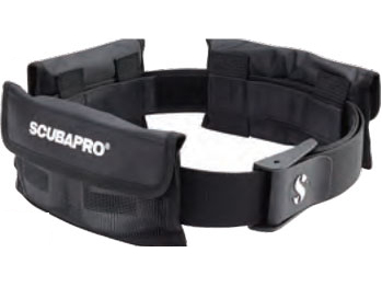 SCUBAPRO(スキューバプロ) スライドポケットウェイトベルト サイズ:M