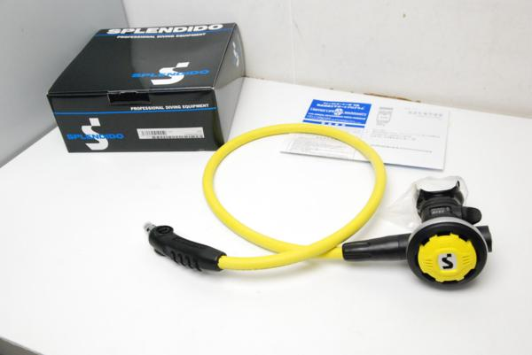 新品・未使用 SCUBAPRO(スキューバプロ) S550モデル オクトパス OH済 ランクA [RYS28853]