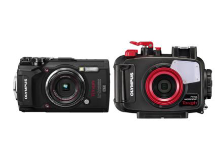 OLYMPUS(オリンパス) TG-5+PT-058 水中カメラセット(ブラック) 送料無料!