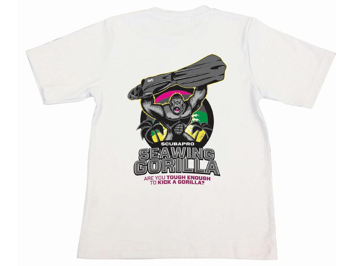 SCUBAPRO Seawing Gorilla Tシャツ