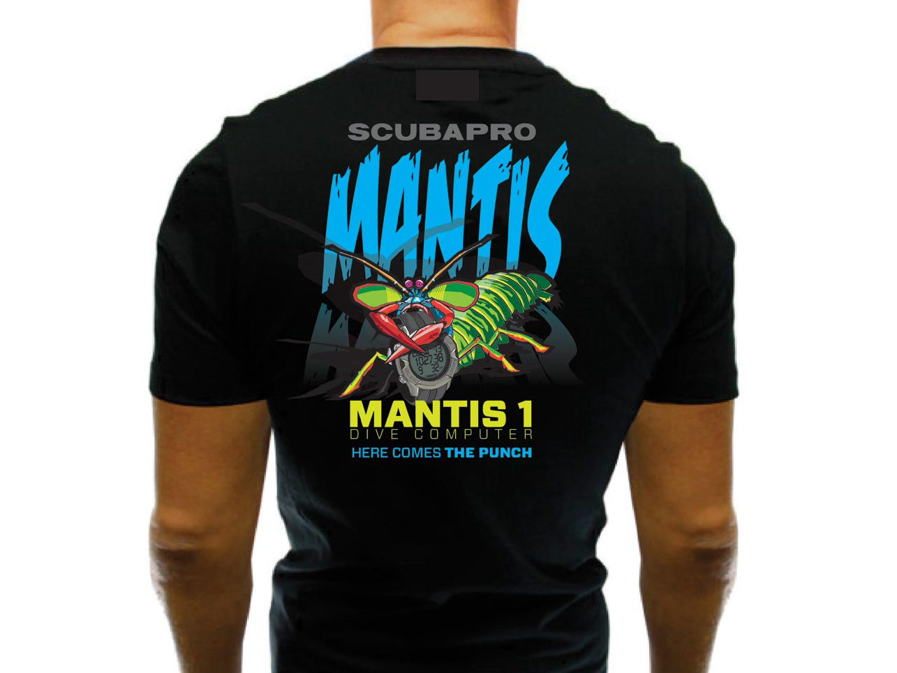 SCUBAPRO MANTIS 1 TEE Tシャツ