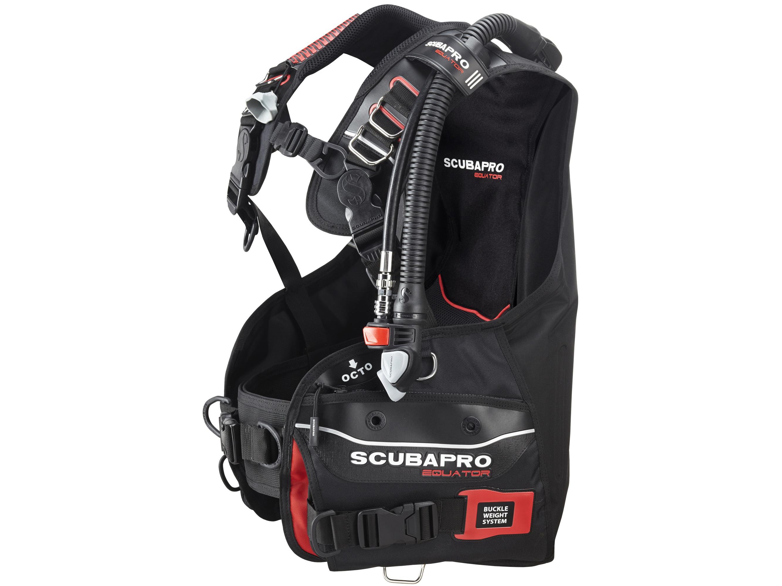 SCUBAPRO EQUATOR(スキューバプロ エクエイター) BCジャケット(AIR-2装備) [送料無料!]