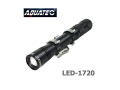 AQUATEC(アクアテック)超小型LED水中ライト [LED-1720] ダイビング ヘッドライト アウトドア 防水ライト 200ルーメン 150m防水 スポット