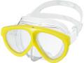 GULL (ガル) MANTIS 5 マンティス5 シリコンマスク ネオンシマ― [GM-1035] ダイビング用マスク スキューバダイビング スノーケリング スキンダイビング
