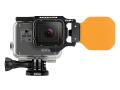 Fisheye(フィッシュアイ) GoPro HERO6フリップオレンジフィルター