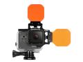 Fisheye(フィッシュアイ) GoPro HERO6フリップオレンジフィルターコンボセット
