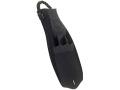 SCUBAPRO(スキューバプロ) ジェットフィン スプリングストラップ ブラック Jet Fin Spring Heel strap - Black (新型 穴あり) XXLサイズ (29-30cm)