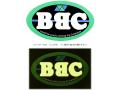 BBC(ビービーシー) ステッカー400 ●サイズ:長径40×短径23cm