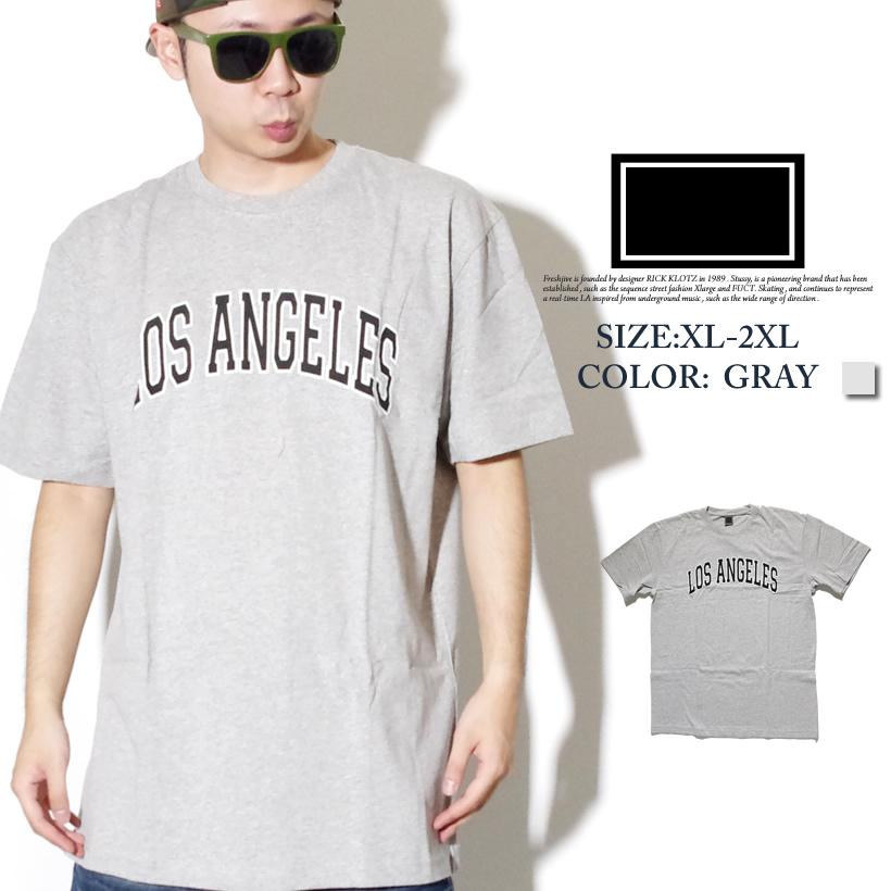 FRESHJIVE【フレッシュジャイブ】 S/S Tシャツ STYLE:1160132 カラー:ヘザーグレー【HIPHOP/B系ブランド】