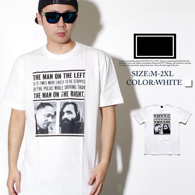 FRESHJIVE【フレッシュジャイブ】S/S TシャツSTYLE:60269カラー:ホワイトfrt017-001【HIPHOP/B系ブランド】