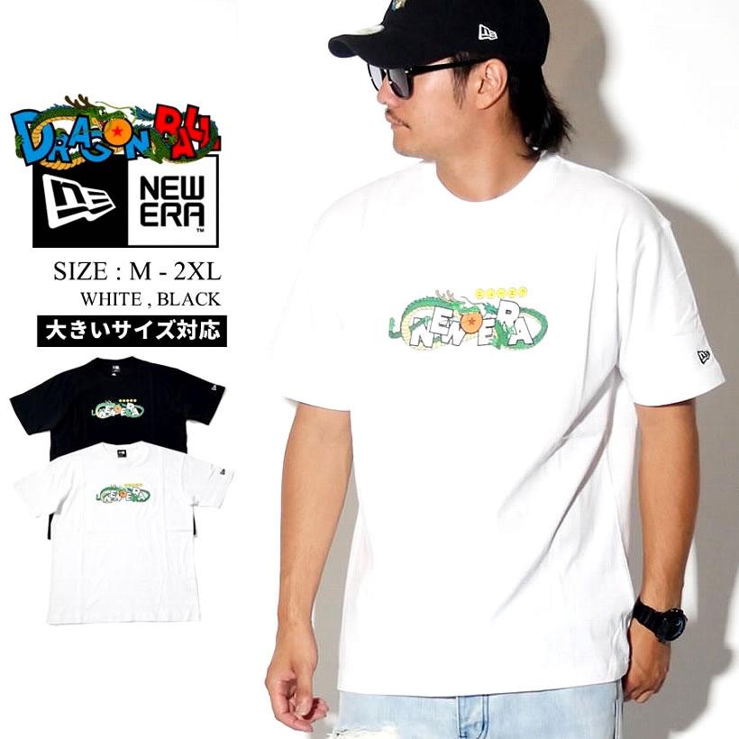 NEW ERA ニューエラ ドラゴンボール コラボ Tシャツ 半袖 神龍 タイトルロゴ ストリート系 ファッション DRAGONBALL 服 通販