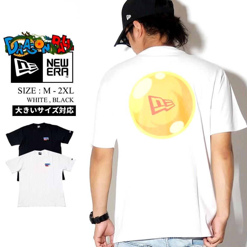 NEW ERA ニューエラ ドラゴンボール コラボ Tシャツ 半袖 フラッグロゴ ストリート系 ファッション DRAGONBALL 服 通販
