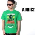ADDICT(アディクト)/半袖Tシャツ/M912G/全3色 b系 ストリート系 ファッション 服 通販 激安 セール SALE