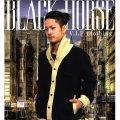 BLACK HORSE (ブラックホース) カーディガン 胸にワッペン BHPT001