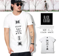 BLACK KAVIAR (ブラックキャビア) 半袖Tシャツ メンズ BKTT030 b系 ストリート系 ファッション 服 通販 激安 セール SALE