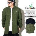 Carrots キャロッツ フランネルシャツ メンズ ロゴ スケーター ストリート ファッション CFA18-WMFL 服 通販