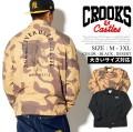 CROOKS&CASTLES クルックスアンドキャッスルズ コーチジャケット メンズ 大きいサイズ マリア b系 ヒップホップ hiphop ファッション 通販 I1770300 CCJT042