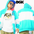 DGK ウインドブレーカー B系ファッション メンズ スケーターファッション SK8 dgj006 b系 ストリート系 ファッション 服 通販 激安 セール SALE