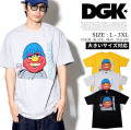 DGK ディージーケー 半袖Tシャツ メンズ 大きいサイズ エルモ The Plug T-Shirt スケーター ストリート系 ヒップホップ ファッション 通販 DGTT164