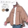 チェック柄 ウールコート メンズ ジャケット 防寒 暖かい 冬服 カジュアル ストリート 韓国ファッション BLACKHORSE ブラックホース 服 通販