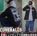 DOP ディーオーピー ダック生地 ワークジャケット メンズ 大きいサイズ ギャングスタ Compton b系 hiphop ヒップホップ ファッション DPJT064