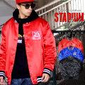 DOP ディーオーピー スタジャン メンズ 大きいサイズ サテン スタジアムジャンパー ジャケット b系 ストリート系 ヒップホップ ファッション 服 通販 DPJT083