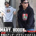 DOP ディーオーピー スウェット プルオーバーパーカー メンズ 大きいサイズ マリア様 女神 b系 hiphop ヒップホップ ファッション DPPT028
