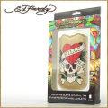 ED HARDY【エドハーディー】モバイルケース(iPhone専用) STYLE:01001 ◆カラー:ゴールド(金色)★HIPHOP/B系/セレブ
