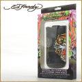 ED HARDY【エドハーディー】モバイルケース(iPhone専用) STYLE:02005 ◆カラー:ブラック(黒色)★HIPHOP/B系/セレブ