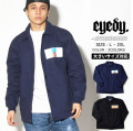 EYEDY アイディー コーチジャケット 中綿 メンズ 大きいサイズ ストリート hiphop ヒップホップ ファッション 通販 EYE-JKT1705 EYJT096