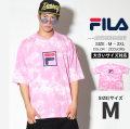 FILA フィラ 半袖 Tシャツ メンズ 大きいサイズ タイダイ柄 ストリート系 ヒップホップ ファッション FM9491 FLTT007