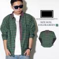 FRESHJIVE(フレッシュジャイブ)オープンシャツ グリーン(緑色) fro011-007(B系ベルト,ヒップホップ,ストリート)