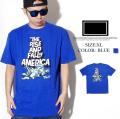 FRESHJIVE【フレッシュジャイブ】 S/S Tシャツ STYLE:1160144 カラー:マリンブルー【HIPHOP/B系ブランド】 b系 ストリート系 ファッション 服 通販 激安 セール SALE