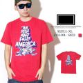 FRESHJIVE【フレッシュジャイブ】 S/S Tシャツ STYLE:1160144 カラー:レッド【HIPHOP/B系ブランド】