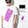 FRESHJIVE【フレッシュジャイブ】S/S TシャツSTYLE:60266カラー:ホワイトfrt015-001【HIPHOP/B系ブランド】 b系 ストリート系 ファッション 服 通販 激安 セール SALE