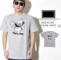 FRESHJIVE【フレッシュジャイブ】S/S TシャツSTYLE:60268カラー:グレーfrt016-005【HIPHOP/B系ブランド】