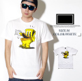 FRESHJIVE【フレッシュジャイブ】S/S TシャツSTYLE:60268カラー:ホワイトfrt016-001【HIPHOP/B系ブランド】