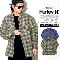 HURLEY ハーレー フランネルシャツ メンズ 長袖 チェック柄 ロゴ サーフ系 アメカジ ファッション WALKER FLANNEL LONG SLEEVE AR0820 服 通販