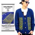 HALFMAN ハーフマン カーディガン HMCD16038 hmp008