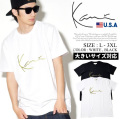 KARL KANI カールカナイ 半袖Tシャツ メンズ 大きいサイズ HIPHOP ヒップホップ b系 ファッション 通販 K170119 KATT004