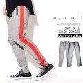 mnml ミニマル トラックパンツ メンズ グレンチェック柄 サイドライン サイドジップ hiphop ヒップホップ ストリート系 ファッション 通販 18ML-SP385P MLDT013